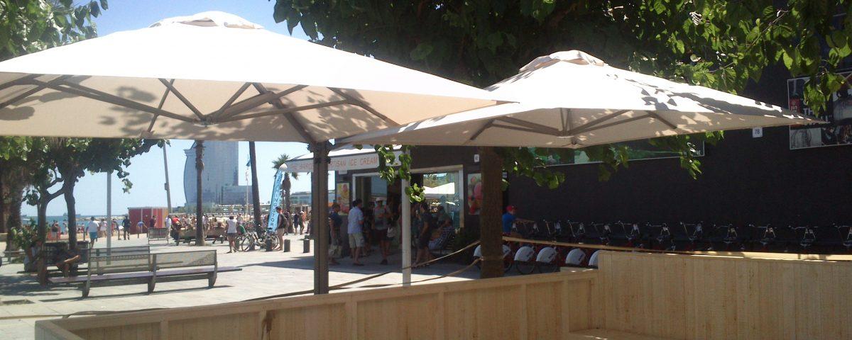 Sombrillas profesionales parasoles de alta calidad y - Sombrillas y parasoles ...